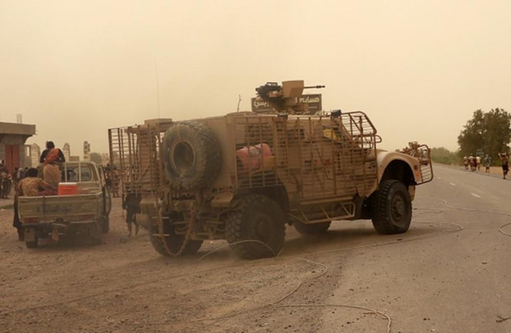 قوات الجيش الوطني تصد هجوماً واسعاً للمليشيا الإيرانية جنوبي الحديدة