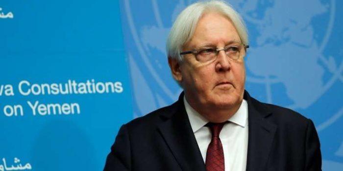 وزير الخارجية الأميركي يلتقي غريفيث لتحريك الملف اليمني