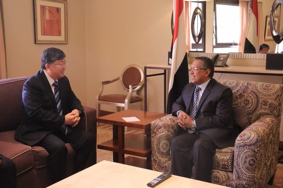 سفير كوريا الجنوبية يجدد لرئيس الوزراء التزام بلاده بدعم الشرعية اليمنية
